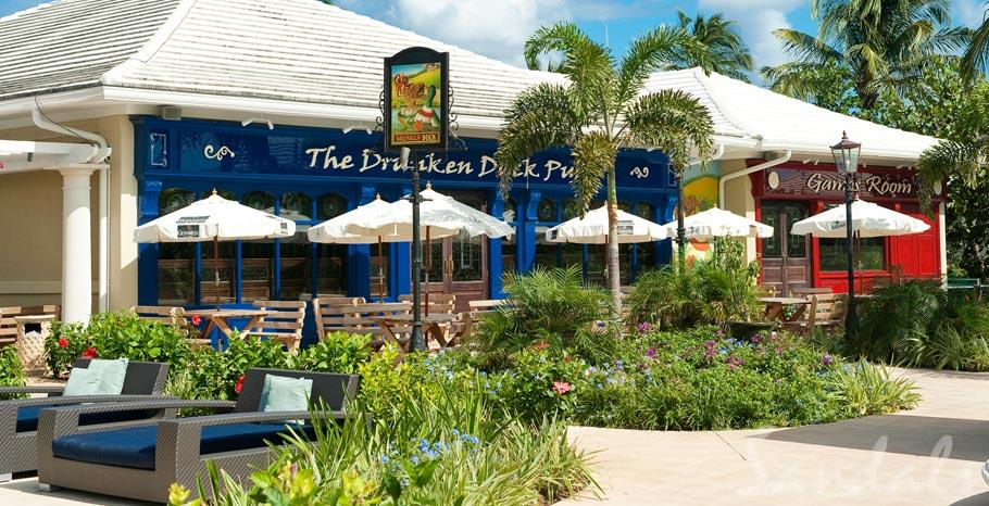 Sandals Emerald Bay Drunken Duck Pub