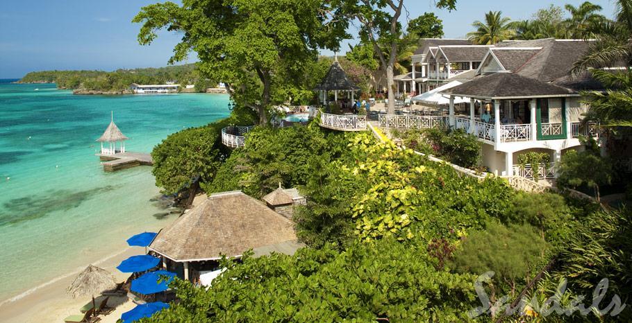 Sandals Royal Plantation Oceanfront Suite