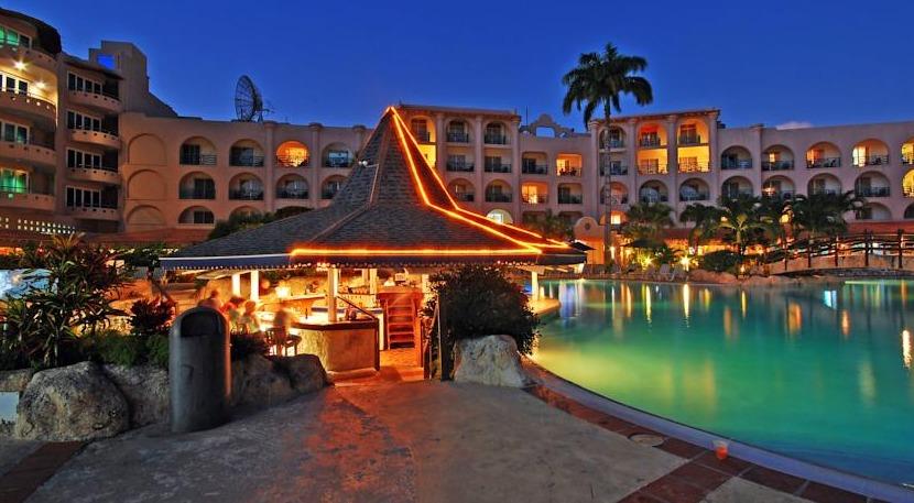 Accra Poolside Bar Happy Hour Barbados