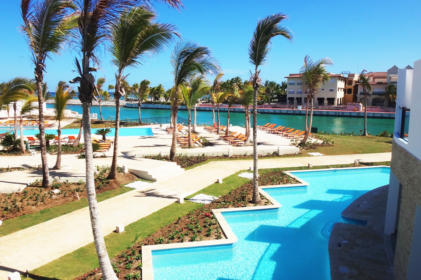 The resort is located near Cap Cana Marina
