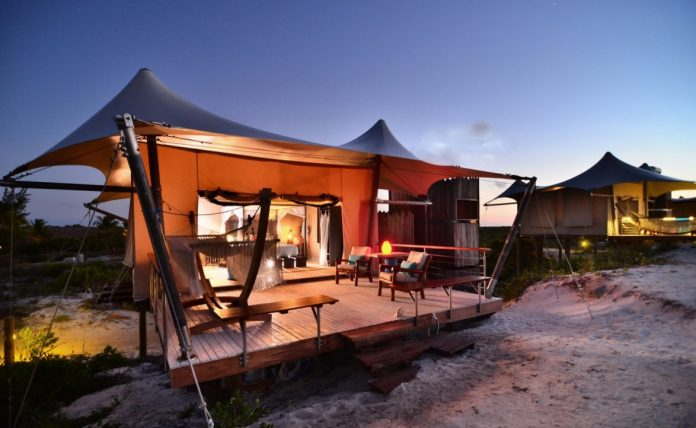 Glamping On The Beach In The British Virgin Islands