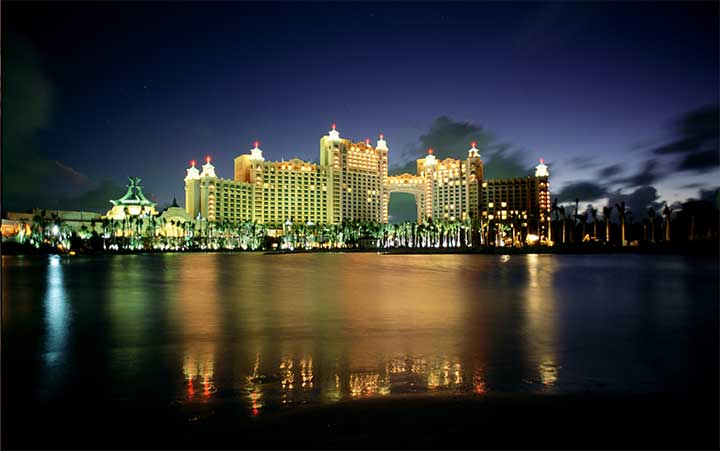 Atlantis Resort at Night