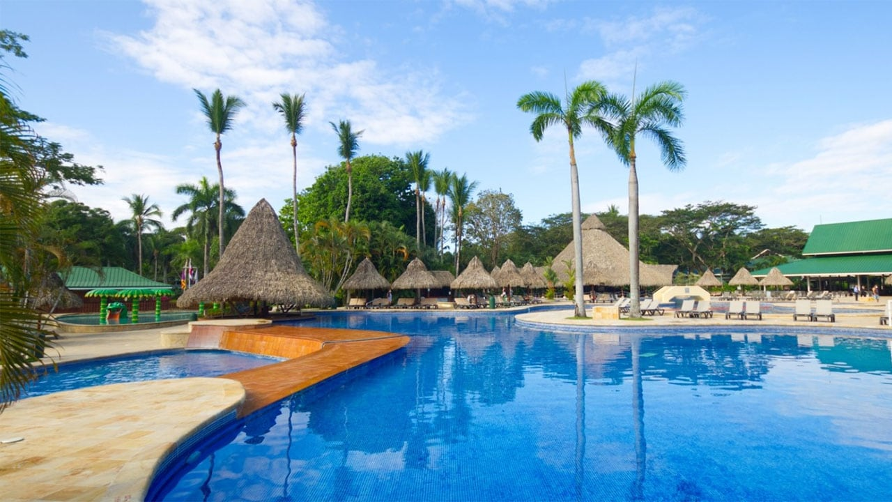 One of two pools at Barcelo Tambor