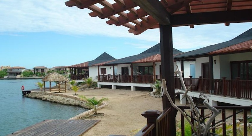 Waterlands Village is a collection of 24 cottages located on the marina.