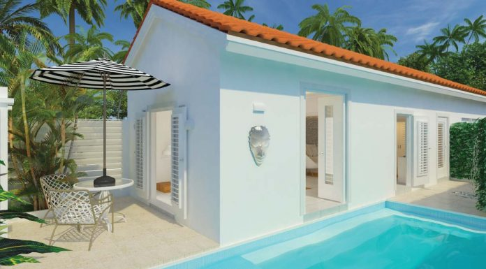 Couples Oasis Spa Villa Private Plunge Pool