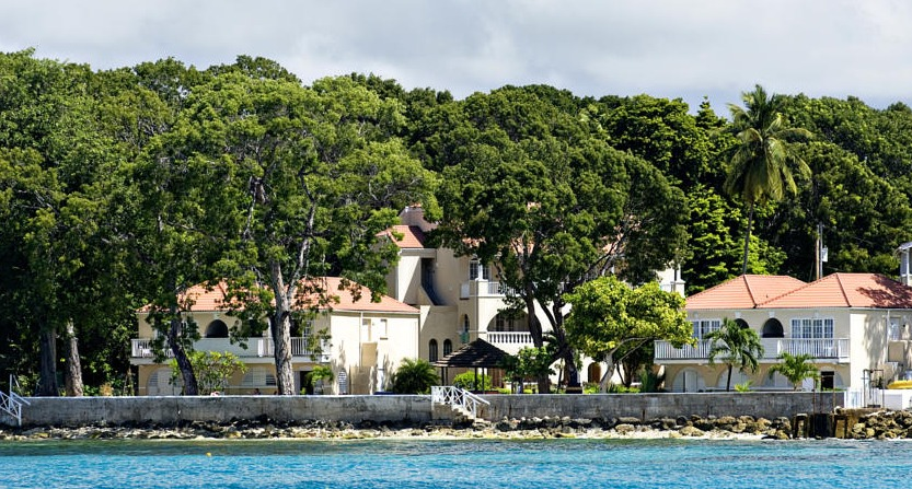 The adults-only Divi Heritage is located on the west coast of Barbados.