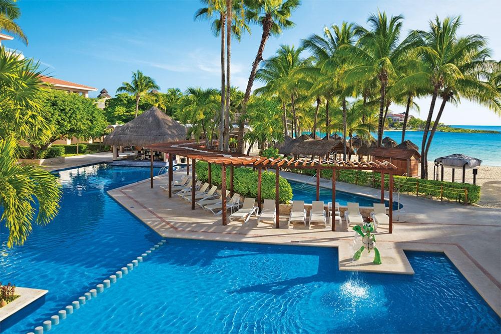The Kids' Pool at Dreams Puerto Aventuras Resort & Spa