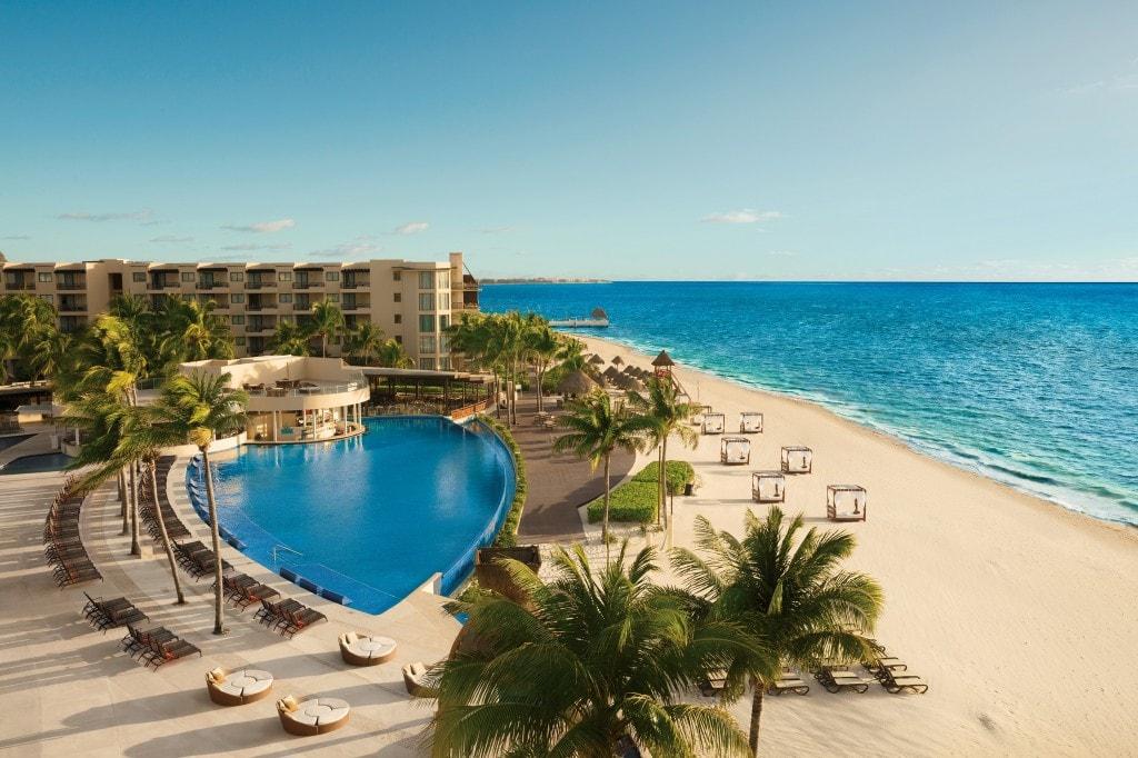 Dreams Riviera Cancun Main Pool