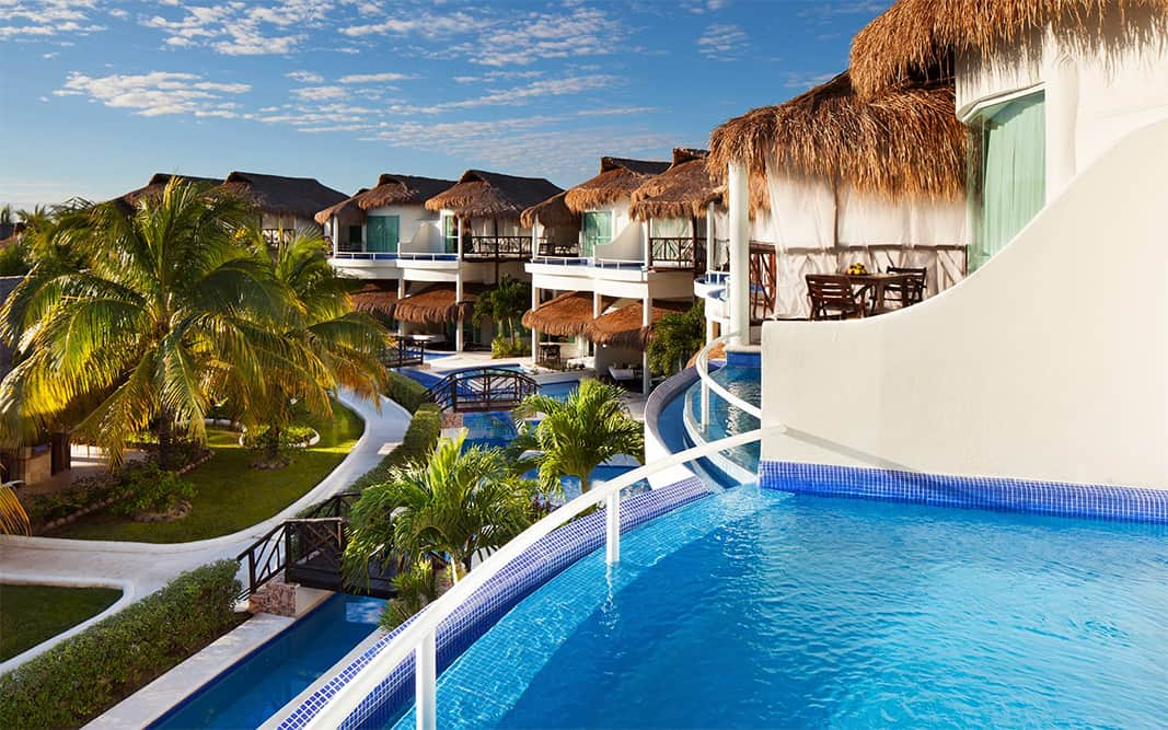 Presidential Studio Swim-Up Suites at El Dorado Casitas Royale