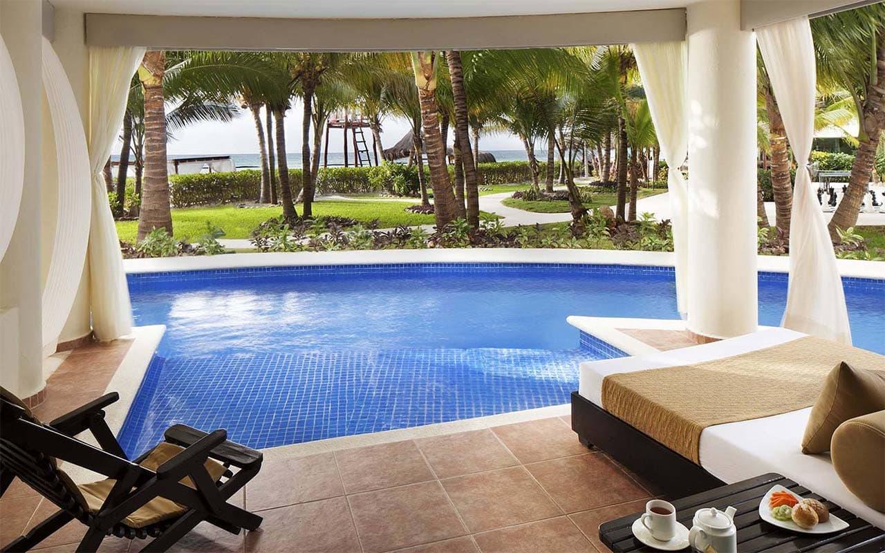 El Dorado Maroma Swim Up Suite