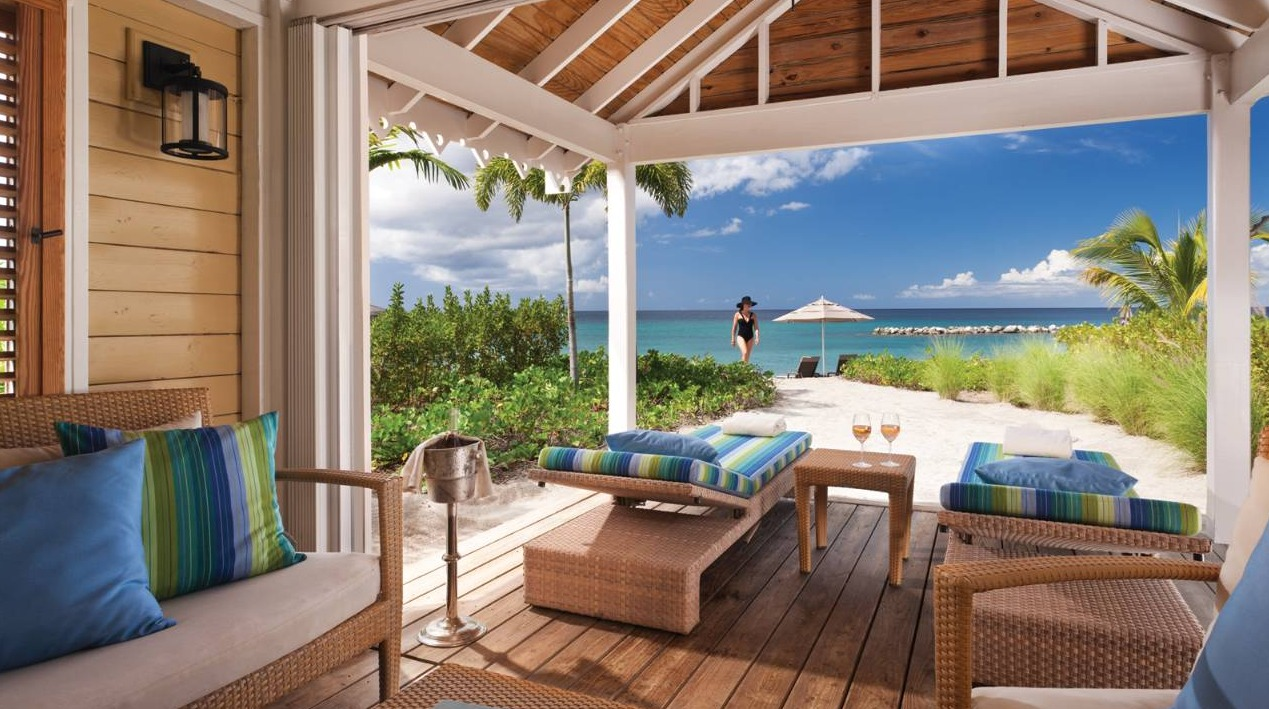 Four Seasons Nevis Beach Cabana
