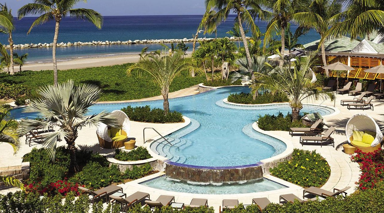 Four Seasons Nevis Garden Pool