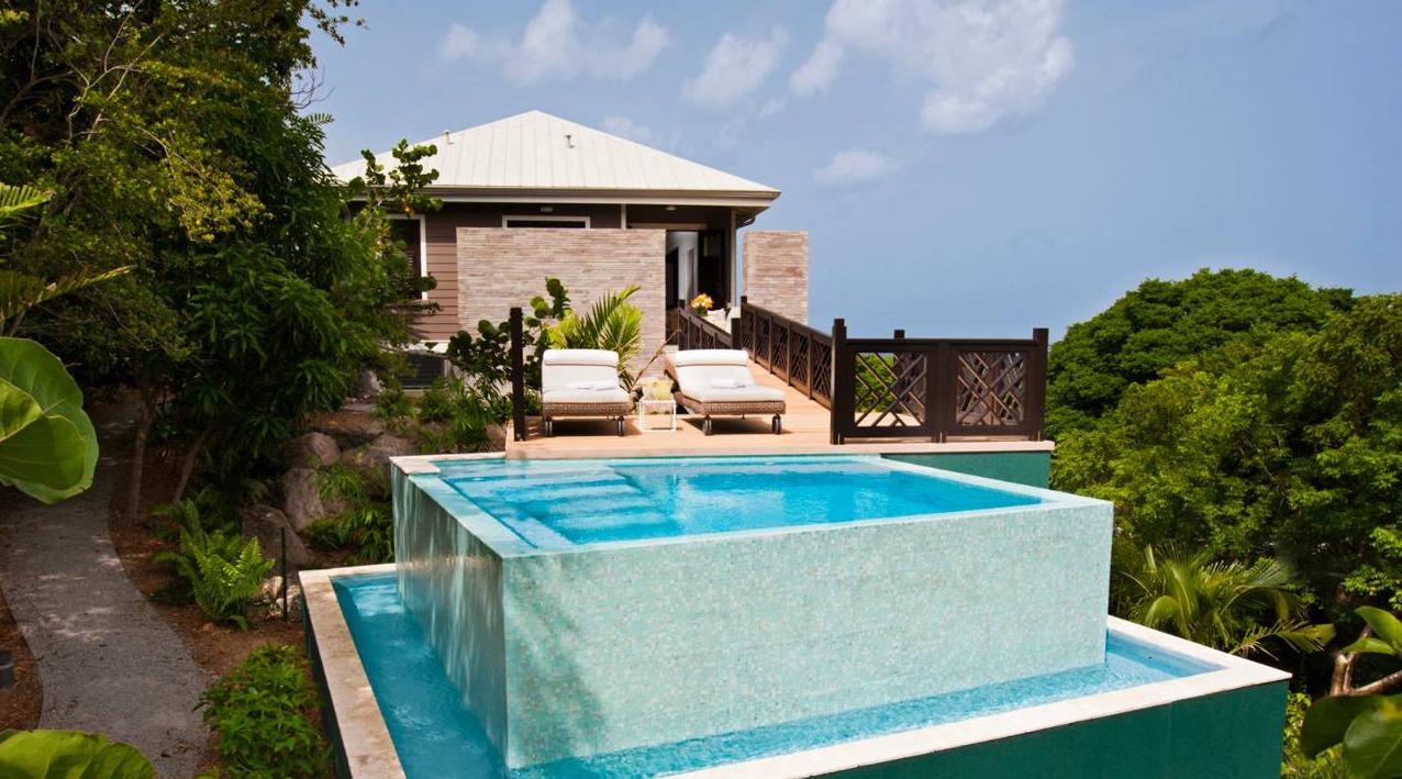 Four Seasons Nevis Hill Estate Cottage Pool