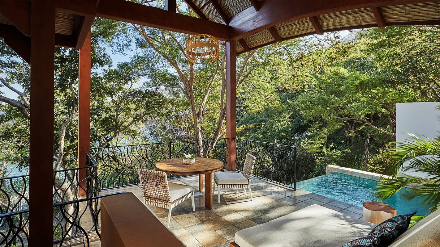 The Canopy Plunge Pool Suite at Four Seasons Resort Costa Rica
