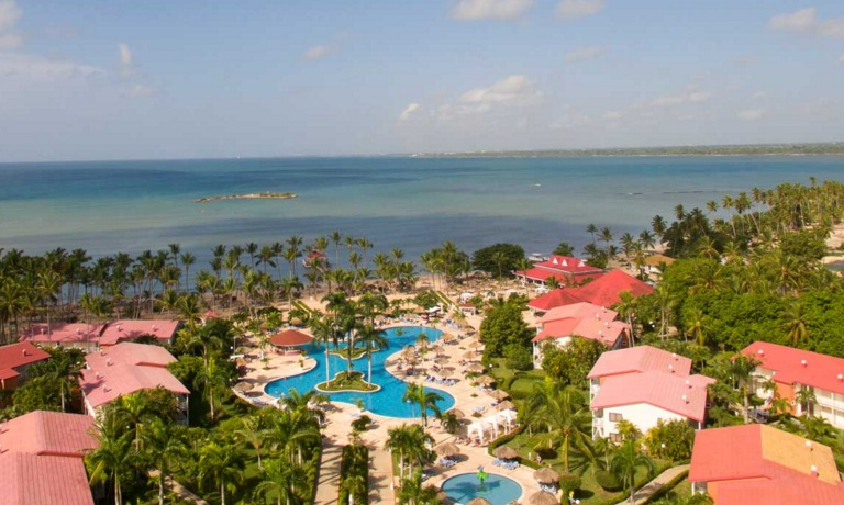 Aerial view of Grand Bahia Principe La Romana