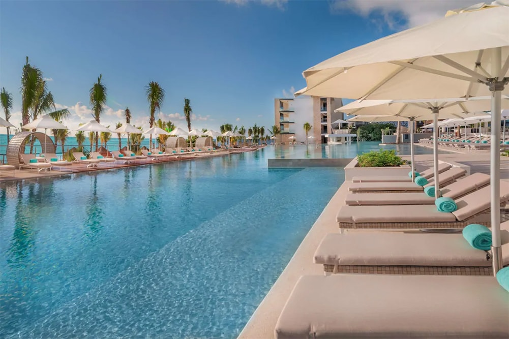 The pool at Haven Riviera Cancun