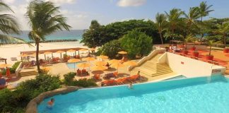 Hilton Barbados is a bright, cheery resort with two beaches and a pool.