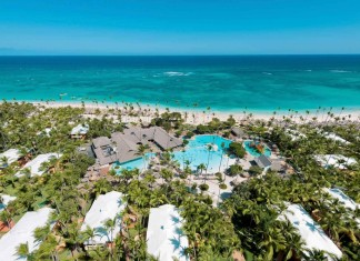 Aerial view of Iberostar Bavaro Suites