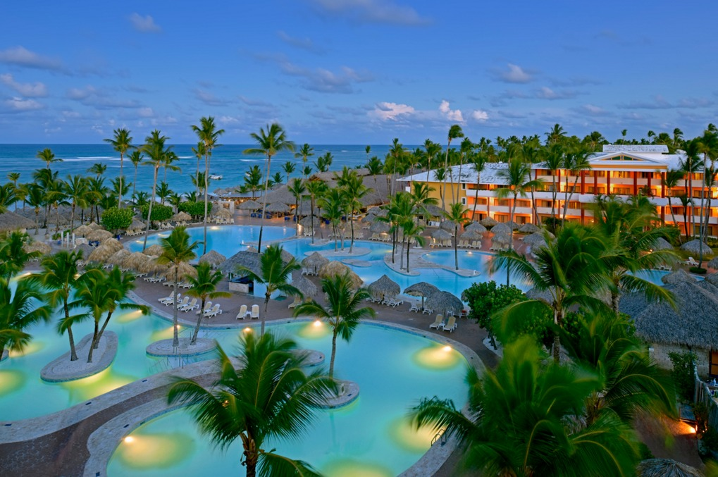 Iberostar Punta Cana has two pools with loungers, towels and parasols
