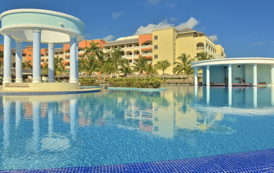 The pool at Iberostar Rose Hall Suites