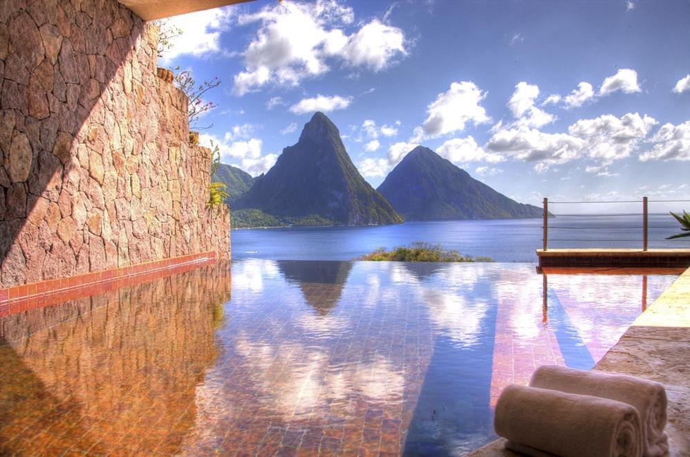 Jade Mountain Private Infinity Pool