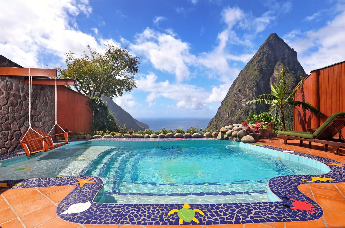 The Most Amazing Pools With Views In St Lucia Resorts Daily