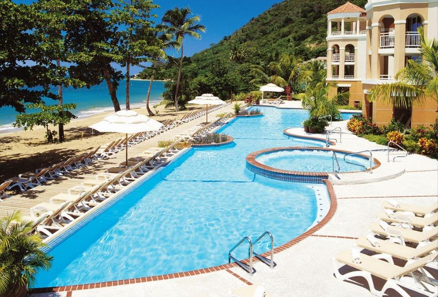 Lagoon Pool at Rincon Beach Resort