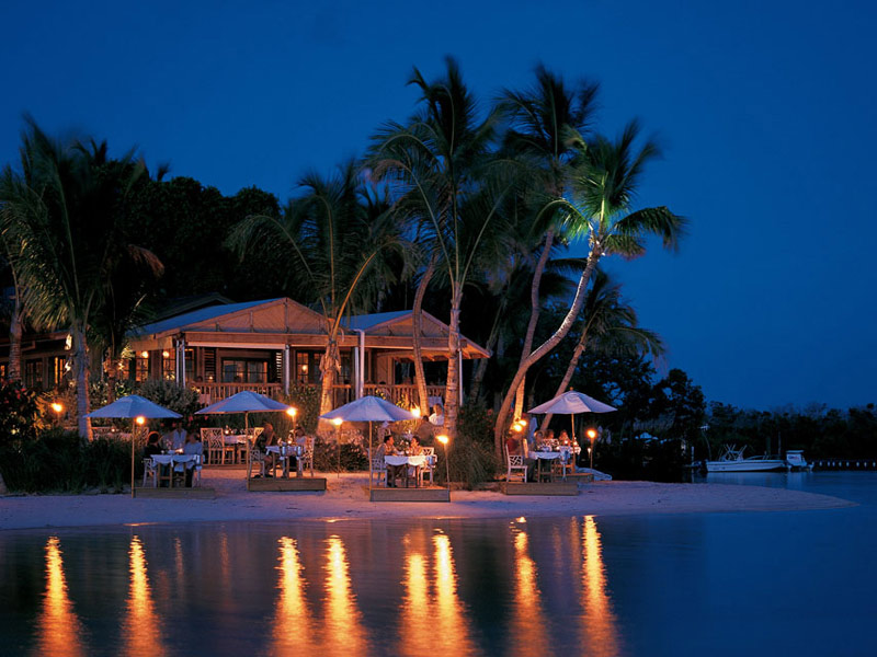 Since guests under 16 are not permitted, Little Palm Island is the perfect choice for a romantic getaway.