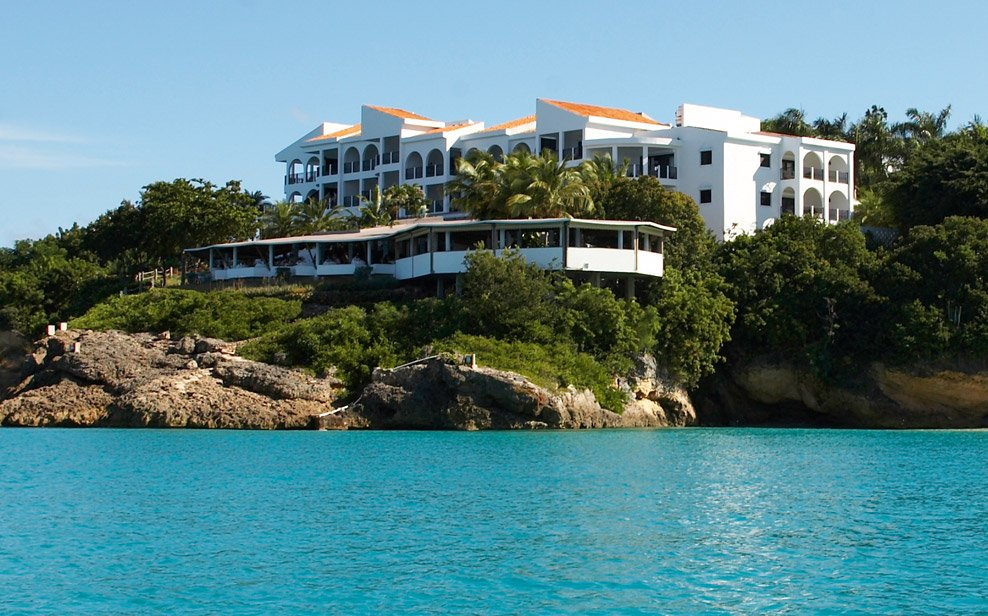 Malliouhana, An Auberge Resort is located on Meads Bay, Anguilla