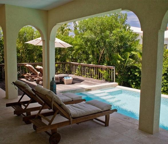 Meads Bay Beach Villas Private Pool
