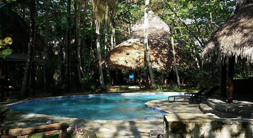 Freeform pool at Natura Cabana