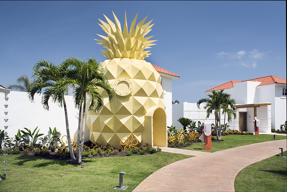 The Pineapple Villa at Nickelodeon Punta Cana