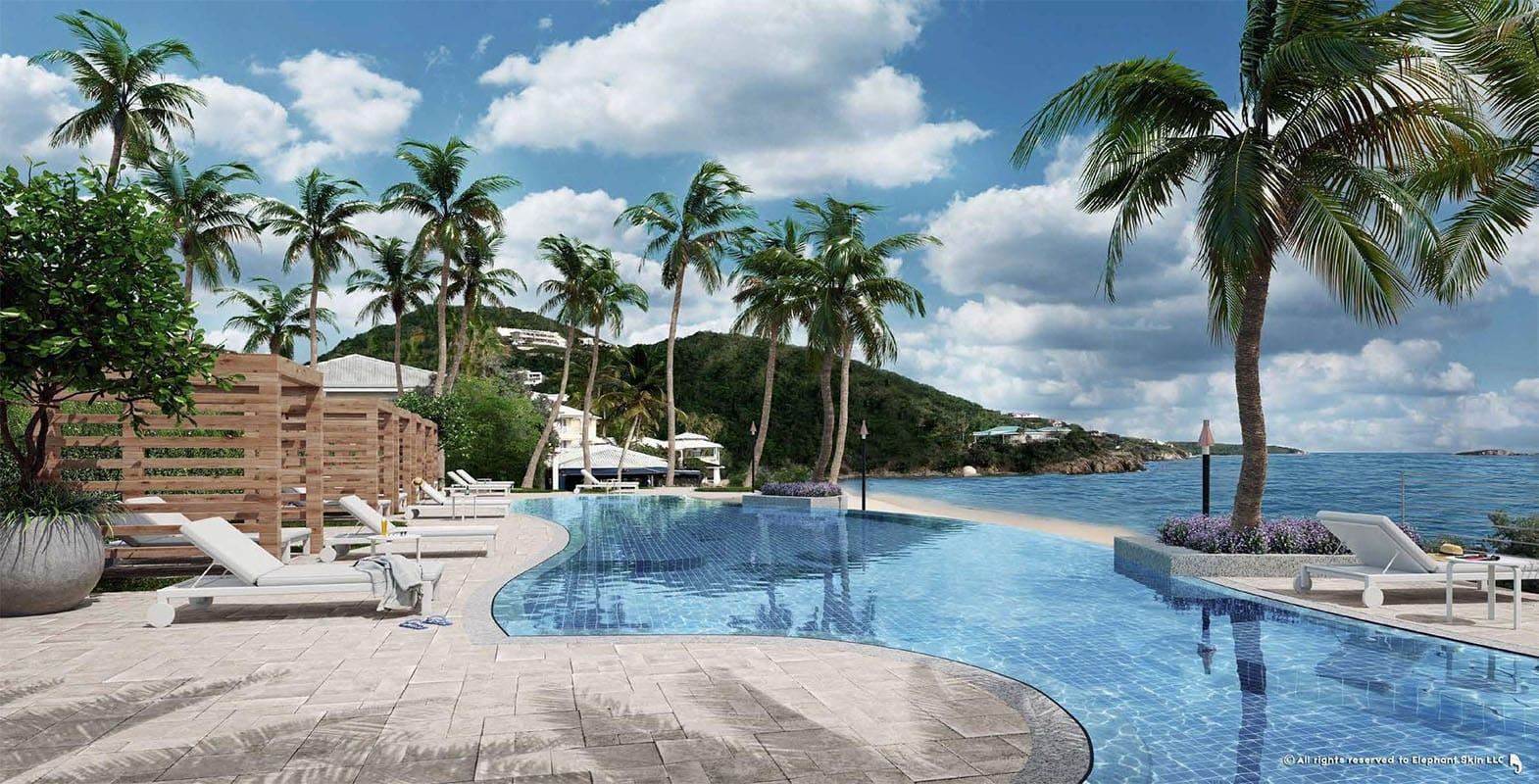 Noni Beach Resort Infinity Pool