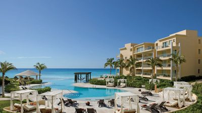 The adults-only pool at Now Jade Riviera Cancun