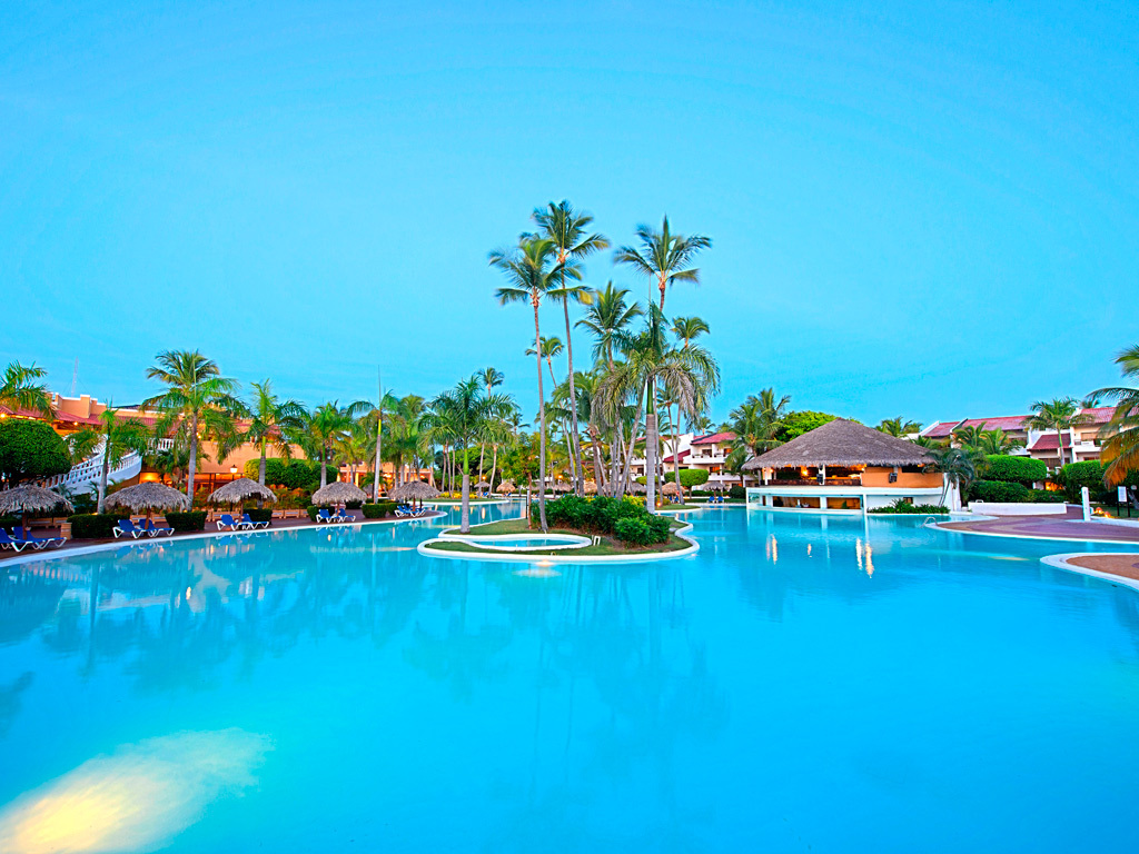 The pool at Occidental Grand Punta Cana