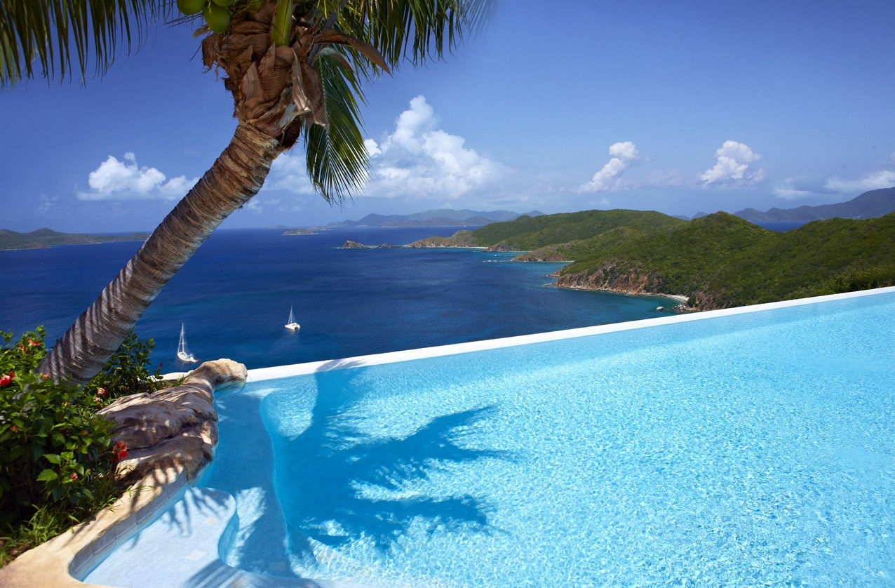 British virgin islands resorts with private pools