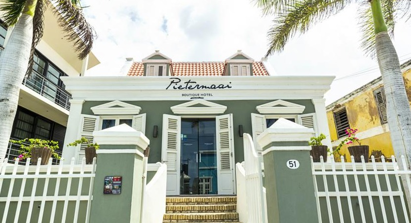 Pietermaai Boutique Hotel is located in the historical Pietermaai district of Willemstad.