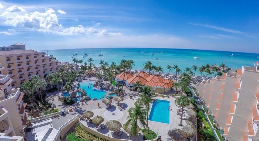 Playa Linda Pool on Palm Beach