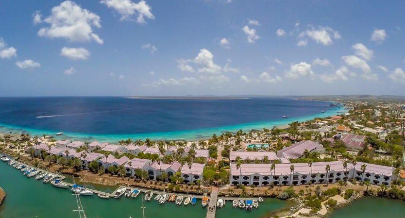 Plaza Beach Resort offers access to Bonaire's world-class diving.
