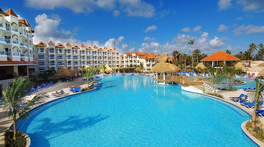 Large Lagoon Pool At Barcelo Punta Cana