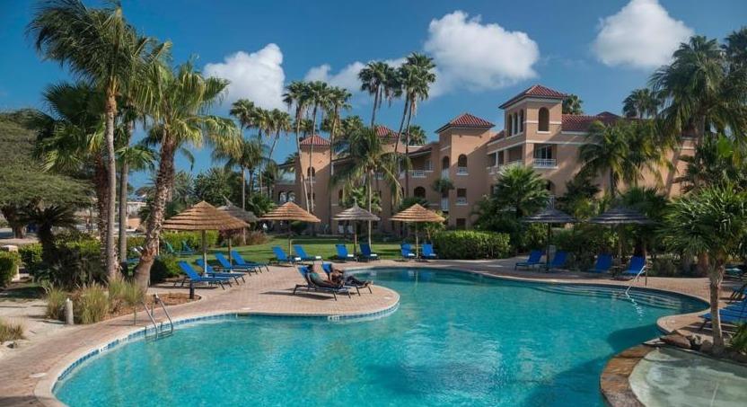 The pool at Divi Village Golf & Beach Resort