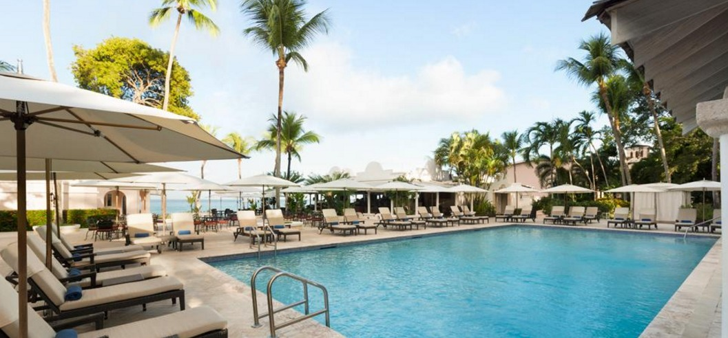 Pool at Fairmont Barbados