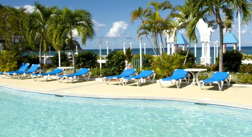 Pool at St. Lucian by Rex Resorts