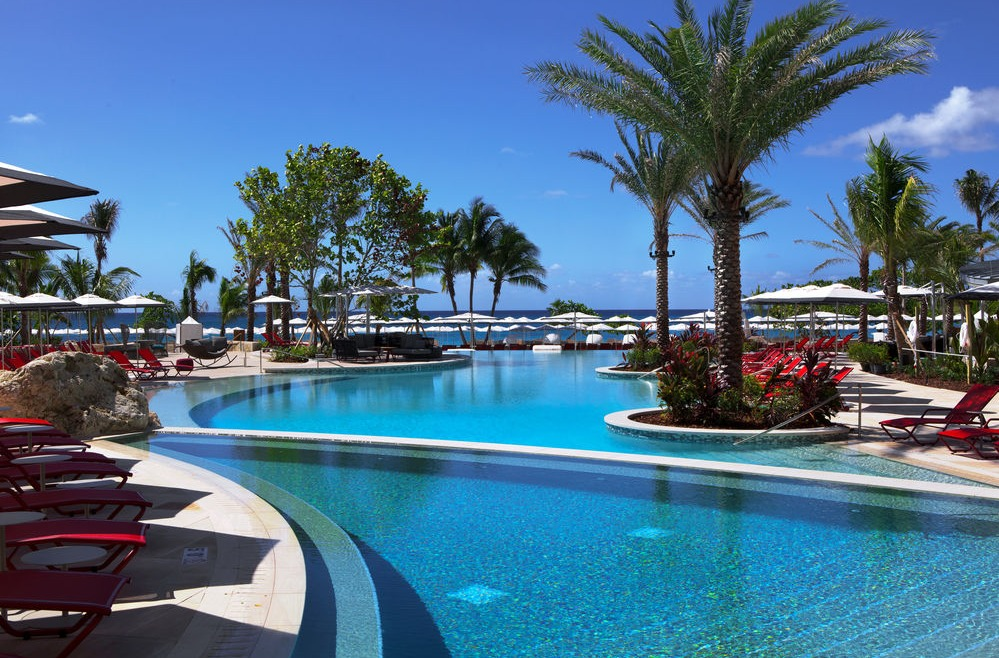 Pool at the new Kimpton Seafire Resort + Spa