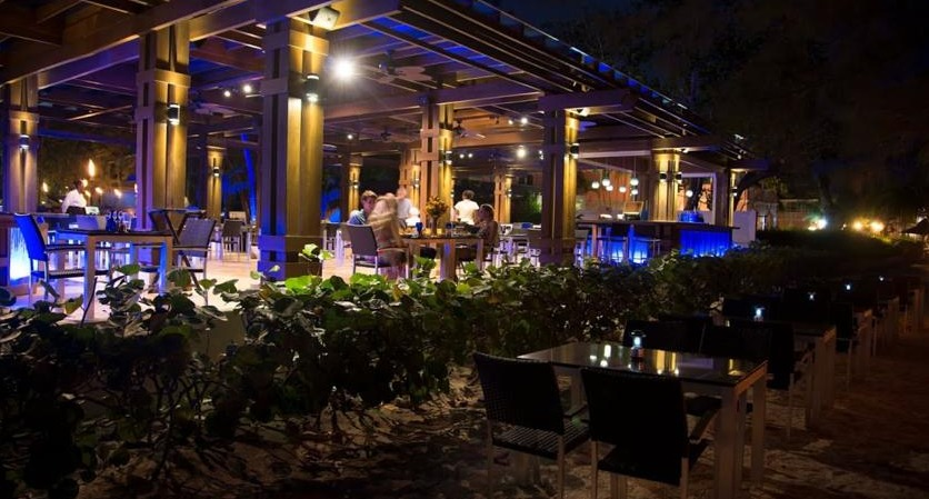 Pure Ocean Restaurant at Divi Southwinds