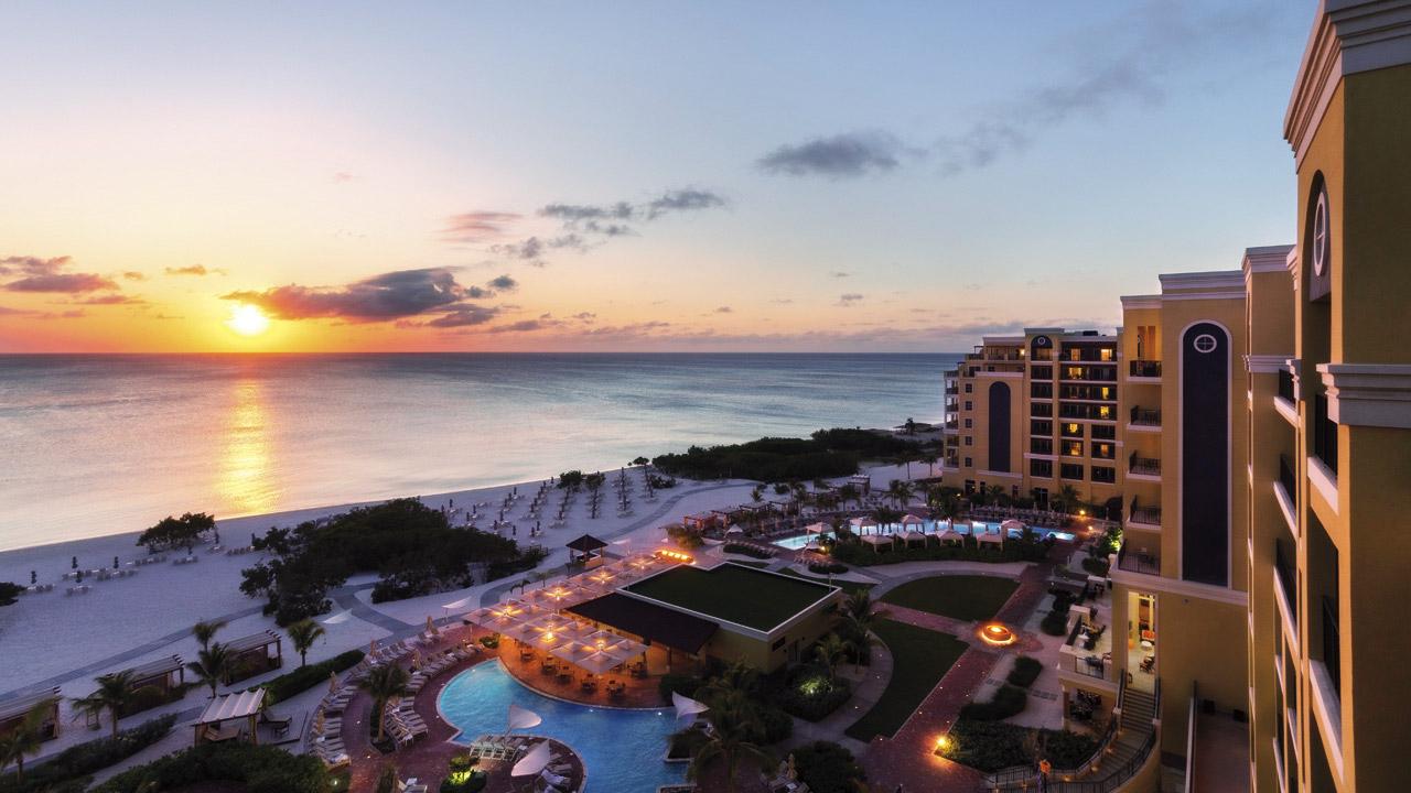 Sunset at The Ritz-Carlton, Aruba