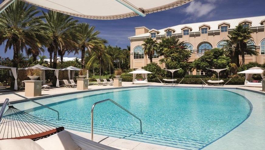 Pool at the Ritz Carlton Grand Cayman