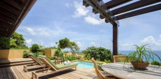 Each casita at Royal Isabela features a sun deck and plunge pool.