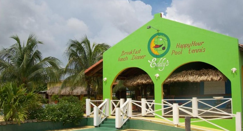 Eddy's Restaurant and Pool Bar is located at the condo complex.