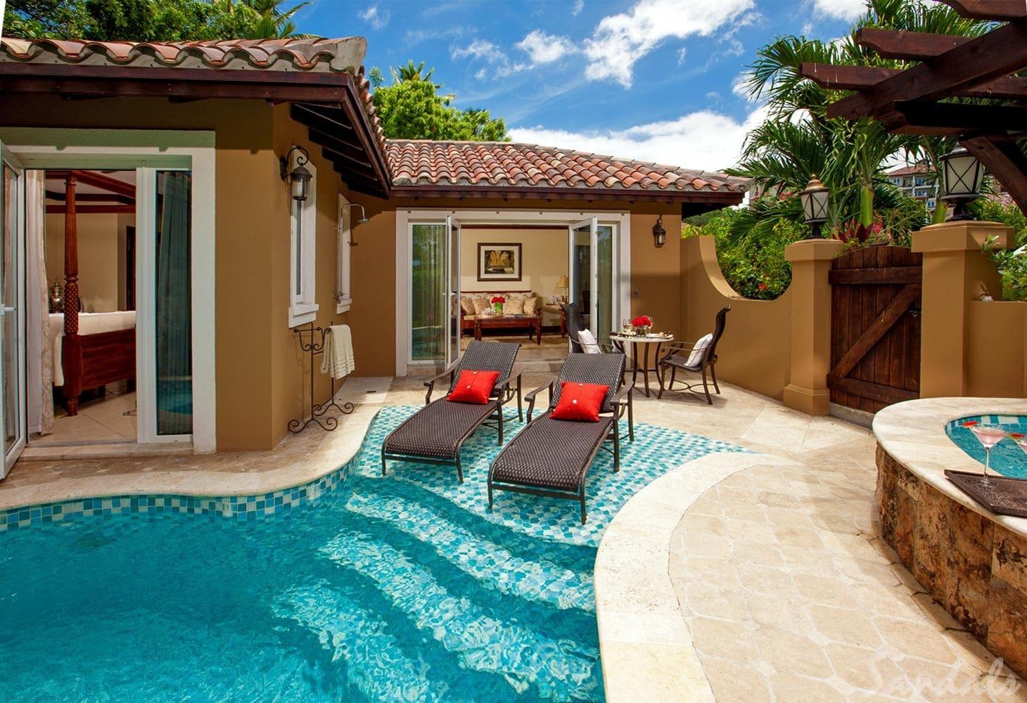 Sandals Grande Antigua Private Pool
